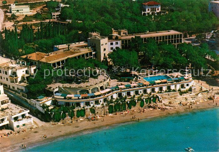 Mallorca Karte Paguera.Ak Ansichtskarte Paguera Mallorca Islas Baleares Fliegeraufnahme Hotel Villamil Kat Calvia