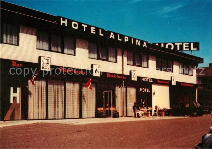AK / Ansichtskarte Hobro Hotel Alpina Kat. Hobro