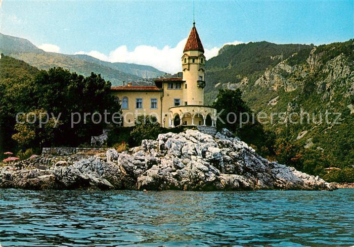 AK / Ansichtskarte Medveja Hotel Castello Kat. Kroatien