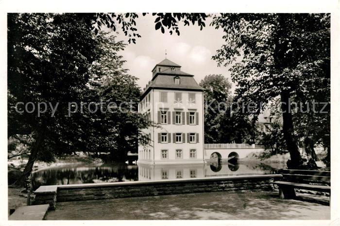 AK / Ansichtskarte Frankfurt Main Holzhausenpark mit Schloss Kat. Frankfurt am Main