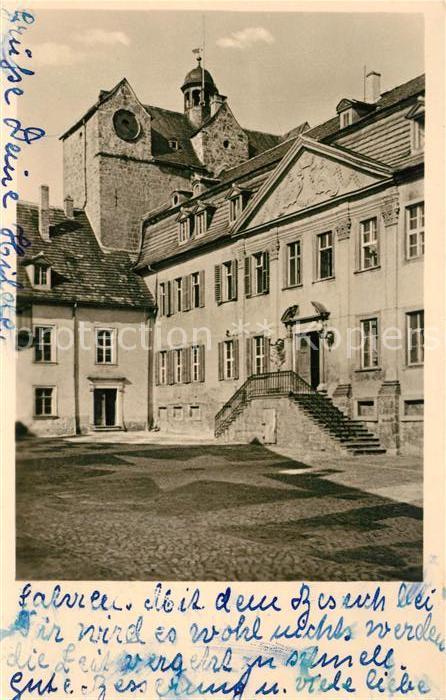 AK / Ansichtskarte Ballenstedt Schloss Kat. Ballenstedt