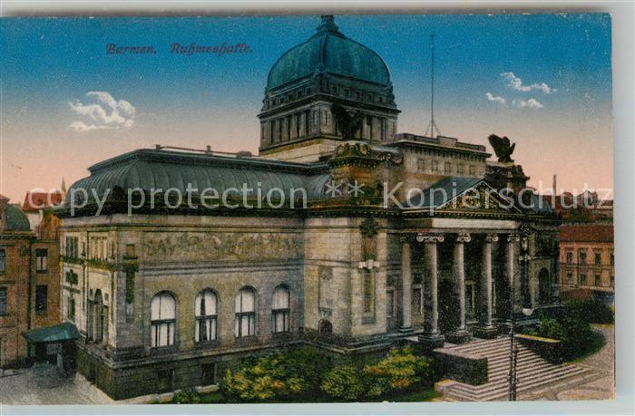 AK / Ansichtskarte Barmen Wuppertal Ruhmeshalle Kat. Wuppertal