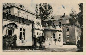 AK / Ansichtskarte Bad Kreischa Sanatorium der Wismut AG