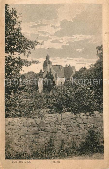 AK / Ansichtskarte Elstra Schloss Kat. Elstra