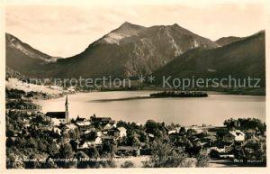 AK / Ansichtskarte Schliersee mit Brecherspitze Kat. Schliersee