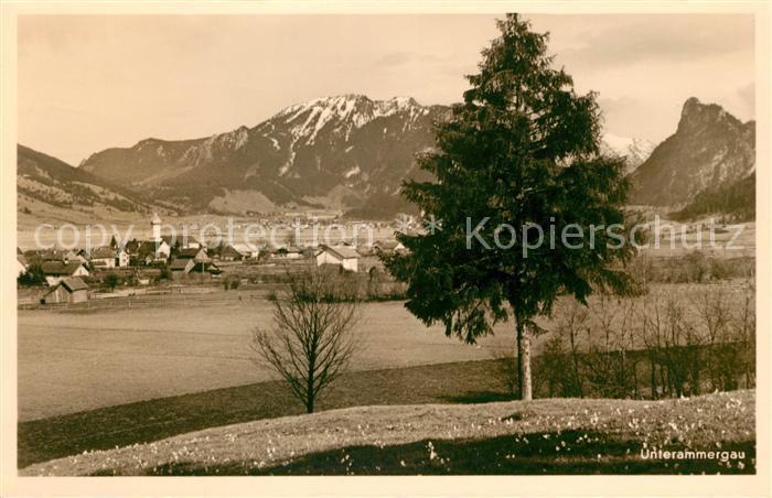 AK / Ansichtskarte Unterammergau  Kat. Unterammergau