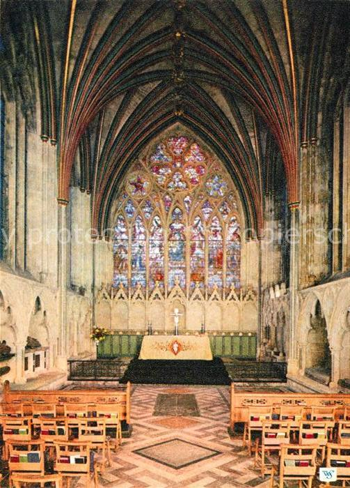 AK / Ansichtskarte Exeter Cathedral Lady Chapel Kat. Exeter
