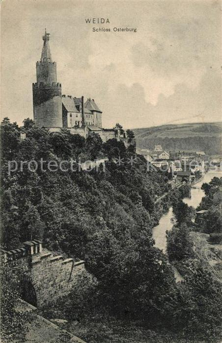 AK / Ansichtskarte Weida Thueringen Schloss Osterburg Kat. Weida Thueringen