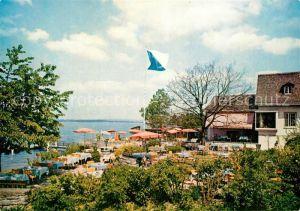 AK / Ansichtskarte Kuesnacht Seilers Restaurant Ermitage au Lac Kat. Kuesnacht