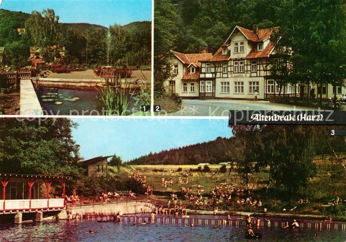 AK / Ansichtskarte Altenbrak Harz Rolandseck Treseburg FDGB Erholungsheim Luppbode  Kat. Altenbrak