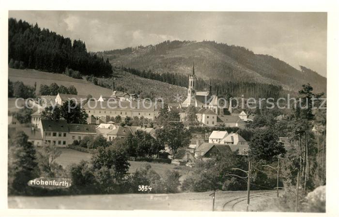 AK / Ansichtskarte Hohenfurt Ortsansicht mit Kloster Kat. Tschechische Republik