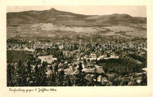 AK / Ansichtskarte Reichenberg Liberec Panorama Blick gegen den Jeschken Sudetengau