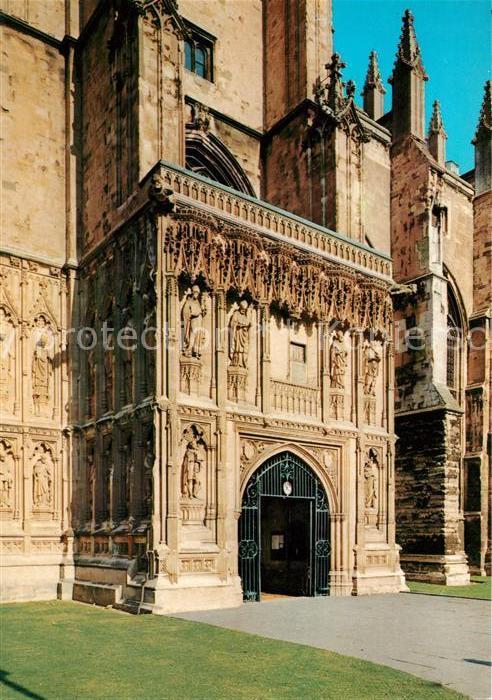 AK / Ansichtskarte Canterbury UK Canterbury Cathedral The south porch Kat. Canterbury
