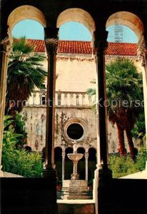AK / Ansichtskarte Dubrovnik Ragusa Kloster Mala braca Kat. Dubrovnik
