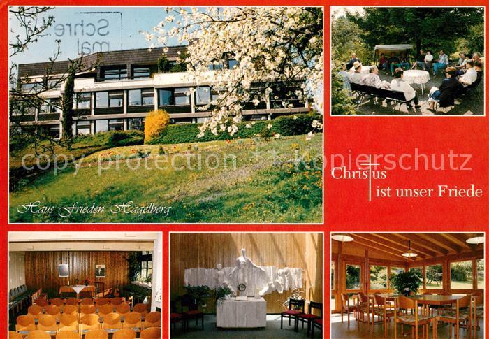 AK / Ansichtskarte Steinen Wiesental Haus Frieden Haegelberg  Kat. Steinen
