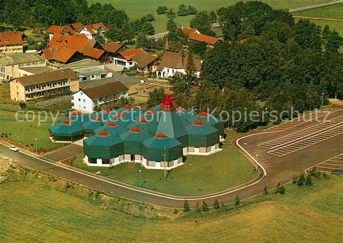 AK / Ansichtskarte Wigratzbad Fliegeraufnahme Herz Jesu Maria Suehnekirche Kat. Opfenbach