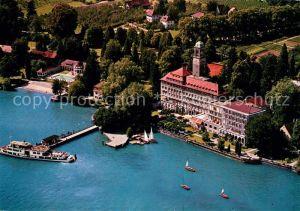 AK / Ansichtskarte Bad Schachen Lindau Fliegeraufnahme Hotel Bad Schachen Kat. Lindau (Bodensee)
