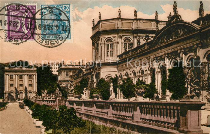 AK / Ansichtskarte Cassel Kassel Orangerie Doppelton Postkarte Kat. Kassel