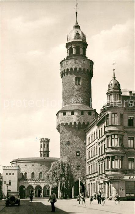 AK / Ansichtskarte Goerlitz Sachsen Reichenbacher Turm Kat. Goerlitz