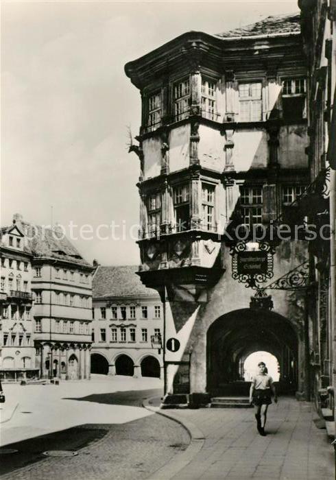 AK / Ansichtskarte Goerlitz Sachsen Untermarkt Schoenhof Kat. Goerlitz