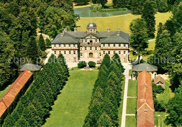 AK / Ansichtskarte Rastatt Fliegeraufnahme Schloss Favorite Kat. Rastatt