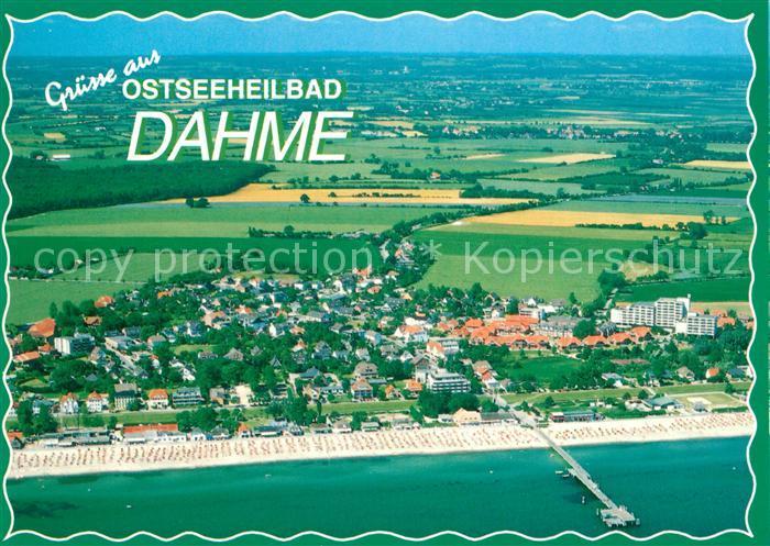 AK / Ansichtskarte Dahme Ostseebad Fliegeraufnahme Kat. Dahme
