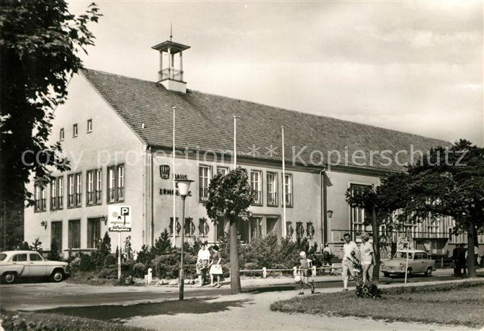 AK / Ansichtskarte Ahlbeck Ostseebad FDGB Heim Haus der Erholung Kat. Heringsdorf Insel Usedom