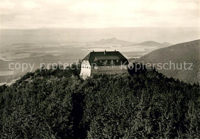 AK / Ansichtskarte Hochwald Zittau Hochwaldbaude im Zittauer Gebirge Kat. Zittau