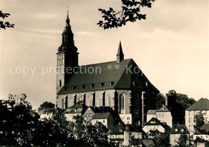 AK / Ansichtskarte Schneeberg Erzgebirge Kirche St Wolfgang Kat. Schneeberg