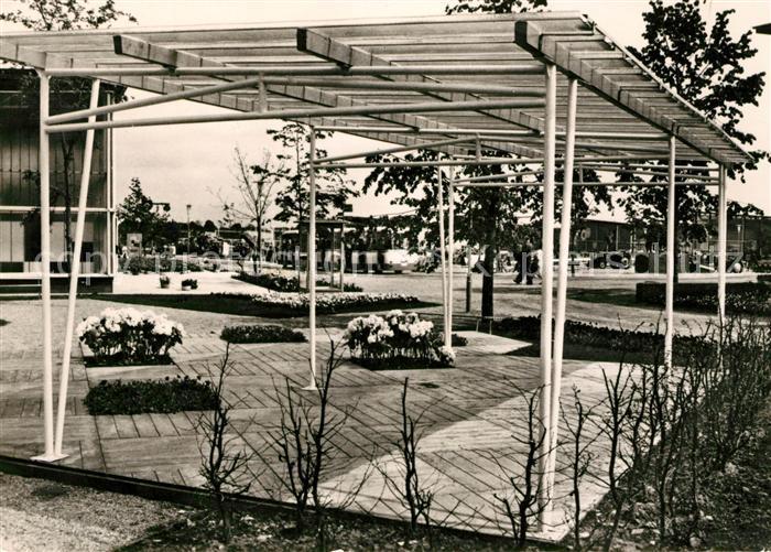 AK / Ansichtskarte Erfurt Internationale Gartenbauausstellung sozialistischer Staaten Kat. Erfurt