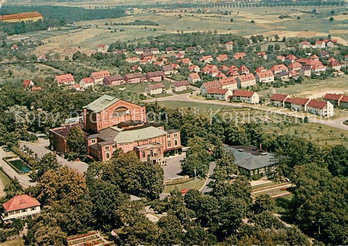 AK / Ansichtskarte Bayreuth Fliegeraufnahme Richard Wagner Festspielhaus Kat. Bayreuth
