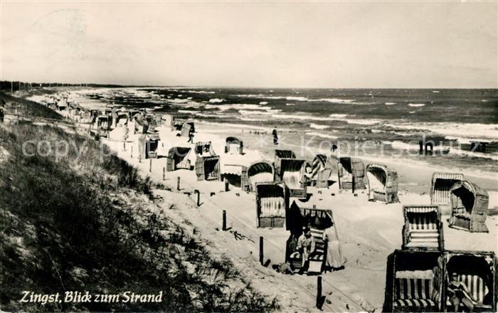 AK / Ansichtskarte Zingst Ostseebad Strand Kat. Zingst Darss