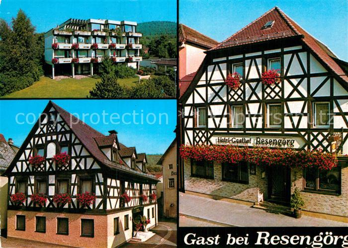 AK / Ansichtskarte Ebermannstadt Hotel Gasthof Resengoerg  Kat. Ebermannstadt 0