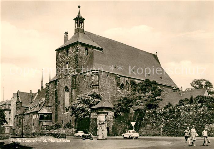 AK / Ansichtskarte Halle Saale St Moritzkirche Kat. Halle