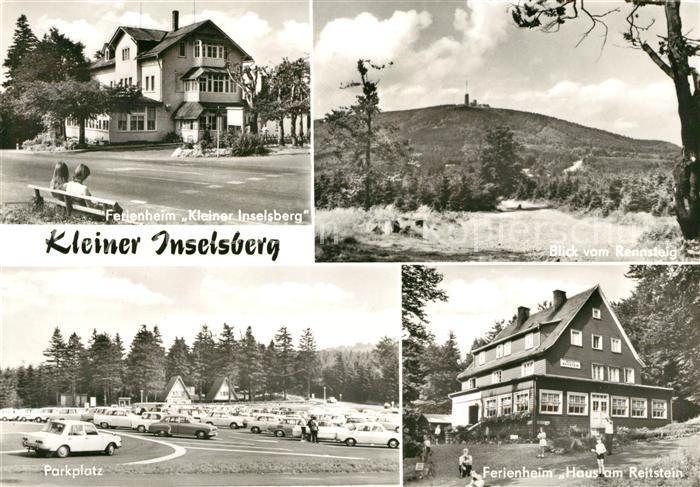 AK / Ansichtskarte Rennsteig Ferienheim Kleiner Inselsberg Ferienheim Haus am Reitstein Parkplatz Kat. Neuhaus Rennweg