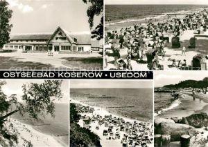 AK / Ansichtskarte Koserow Ostseebad Usedom Strand  Kat. Koserow