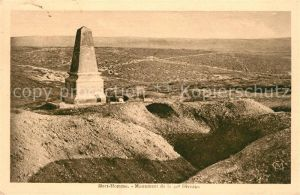 AK / Ansichtskarte Cumieres le Mort Homme Monument de la 40e Division Plateau du Mort Homme Kat. Cumieres le Mort Homme