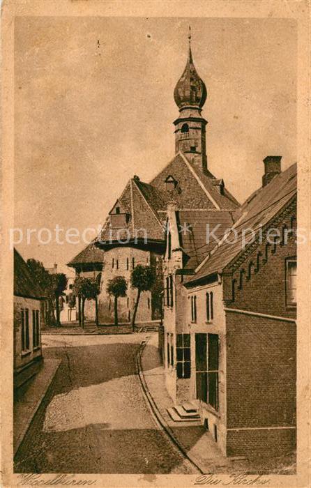 AK / Ansichtskarte Wesselburen Kirche Kat. Wesselburen