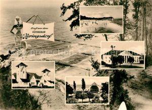 AK / Ansichtskarte Heringsdorf Ostseebad Usedom Kurhaus Strand Konzerthalle  Kat. Heringsdorf