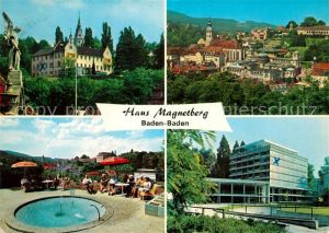 AK / Ansichtskarte Baden Baden Haus Magnetberg Kat. Baden Baden