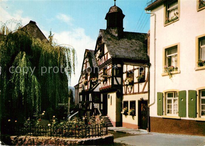 AK / Ansichtskarte Assmannshausen Altes Haus