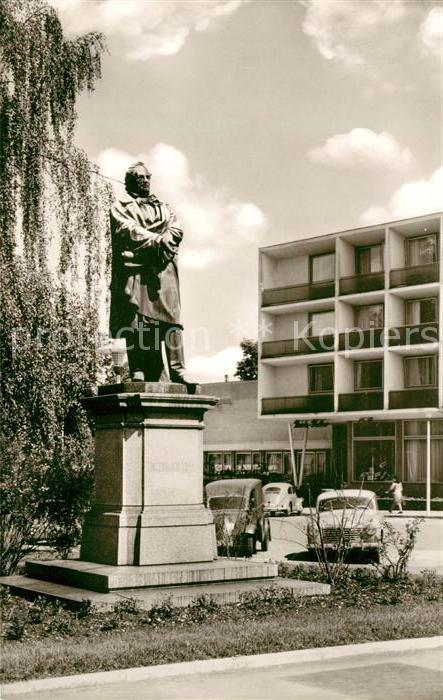 AK / Ansichtskarte Reutlingen Tuebingen Friedrich List Denkmal Parkhotel