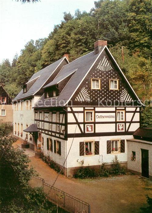 AK / Ansichtskarte Kleinhennersdorf Ferienobjekt Liethenmuehle Kat. Gohrisch