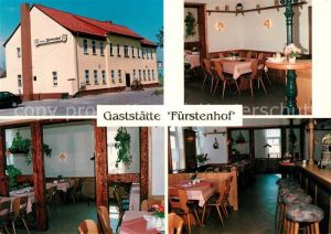 AK / Ansichtskarte Frienstedt Gaststaette Fuerstenhof Gastraeume Bar Kat. Erfurt