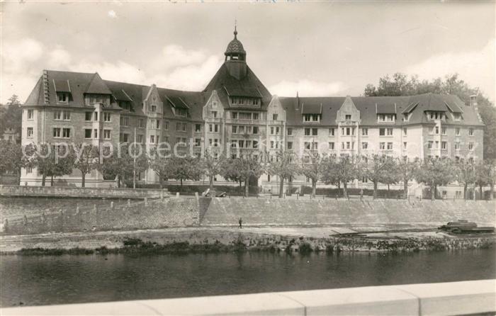 AK / Ansichtskarte Besancon Doubs Universitaetsstadt Kat. Besancon