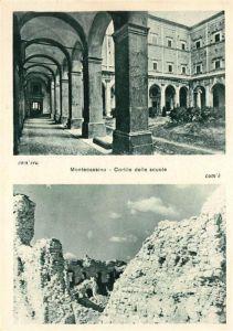 AK / Ansichtskarte Montecassino Cortile delle scuole Kat.