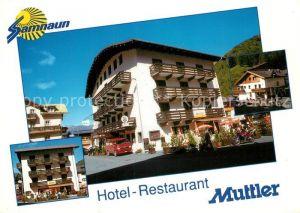 AK / Ansichtskarte Samnaun Dorf Hotel Restaurant Muttler Kat. Samnaun Dorf
