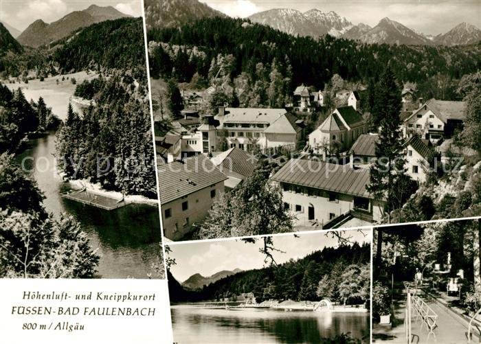 AK / Ansichtskarte Bad Faulenbach Panoramen Kat. Fuessen