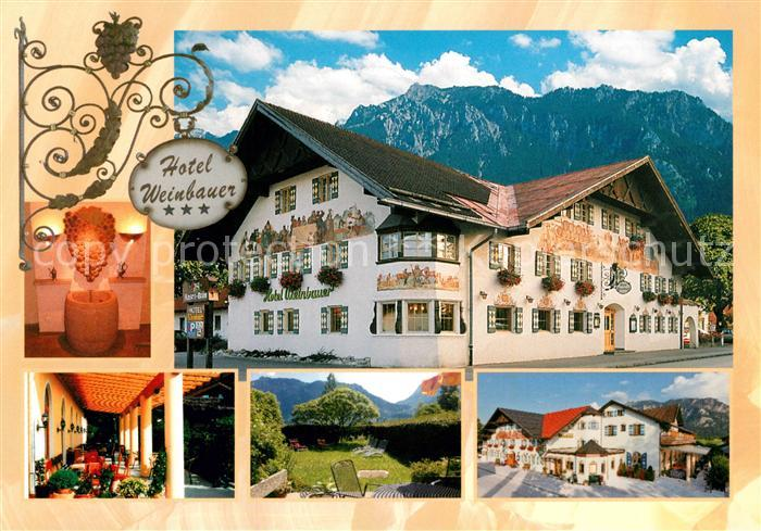 AK / Ansichtskarte Schwangau Hotel Weinbauer Teilansichten Kat. Schwangau