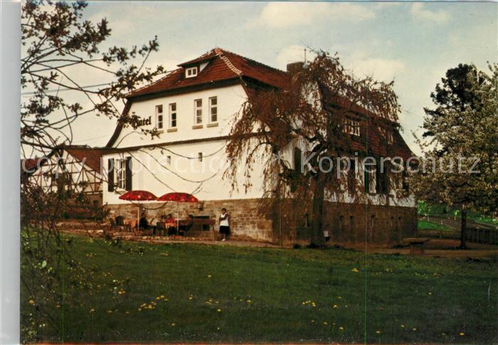 AK / Ansichtskarte Herleshausen Hotel Restaurant Gutsschaenke ...